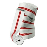 Harbinger Classic Knee Wrap Red Line,  White/Red  78 Inch