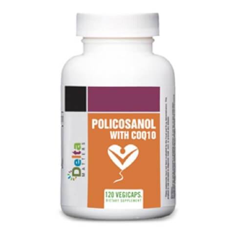 Delta Matters Policosanol With COQ10,  120 capsules