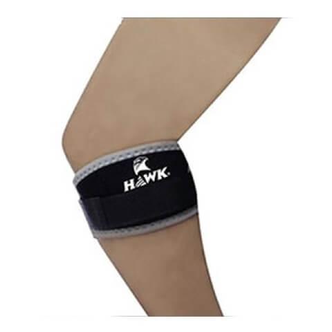 Hawk Elbow Knee Band,  Black & Grey  Free Size
