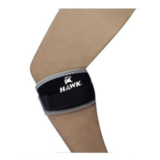 Hawk Elbow Knee Band,  Black & Grey  Free Size