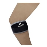 Hawk Elbow Knee Band,  Black Grey  Free Size