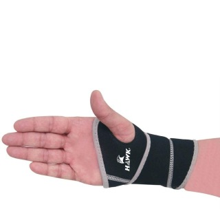 Hawk Thumb Support (Pack of 2),  Black & Grey  Free Size