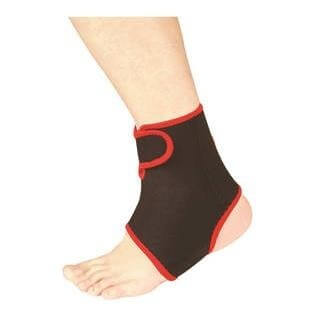 B Fit USA Ankle Support (AB2006),  Black  Free Size