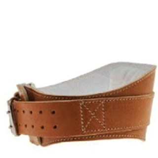 Schiek Leather Padded Contour Belt,  Brown  Medium