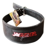 Schiek Black Leather Jay Cutler Signature Belt,  Black  Medium