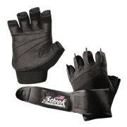 Schiek Womens Gel Lifting Gloves,  Black  Small