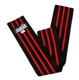 Schiek Heavy Duty Knee Wraps with Velcro Closure,  Black  78 Inch